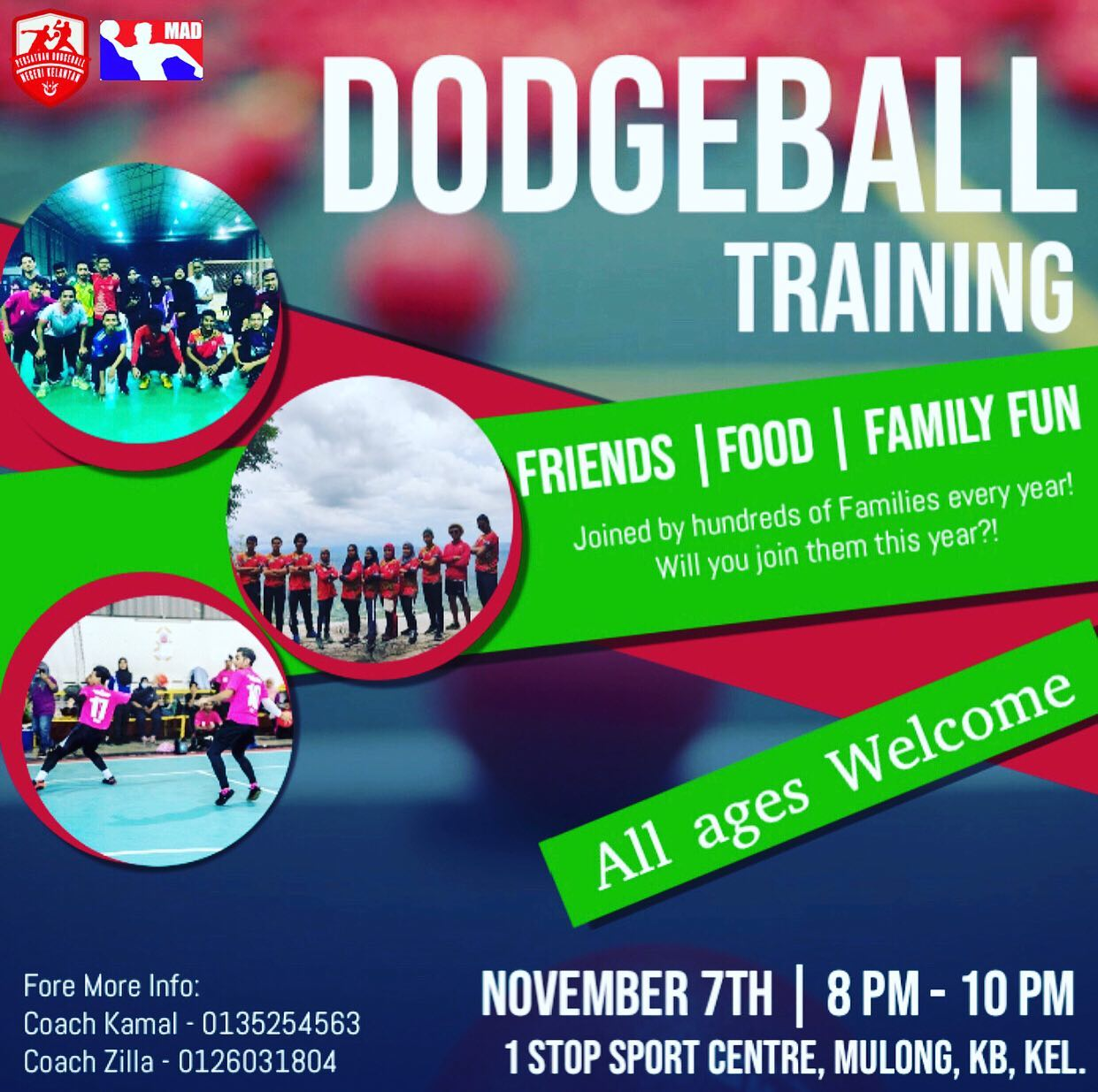 Great News for East Coast Dodgeball