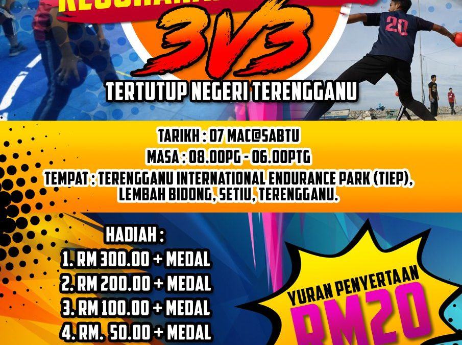 3vs3 Terengganu Dodgeball Is Back