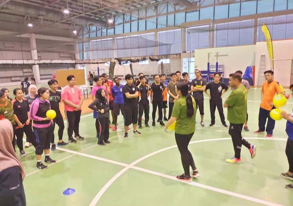 Dodgeball Introduction Session At UNIMAS On February 26, 2020