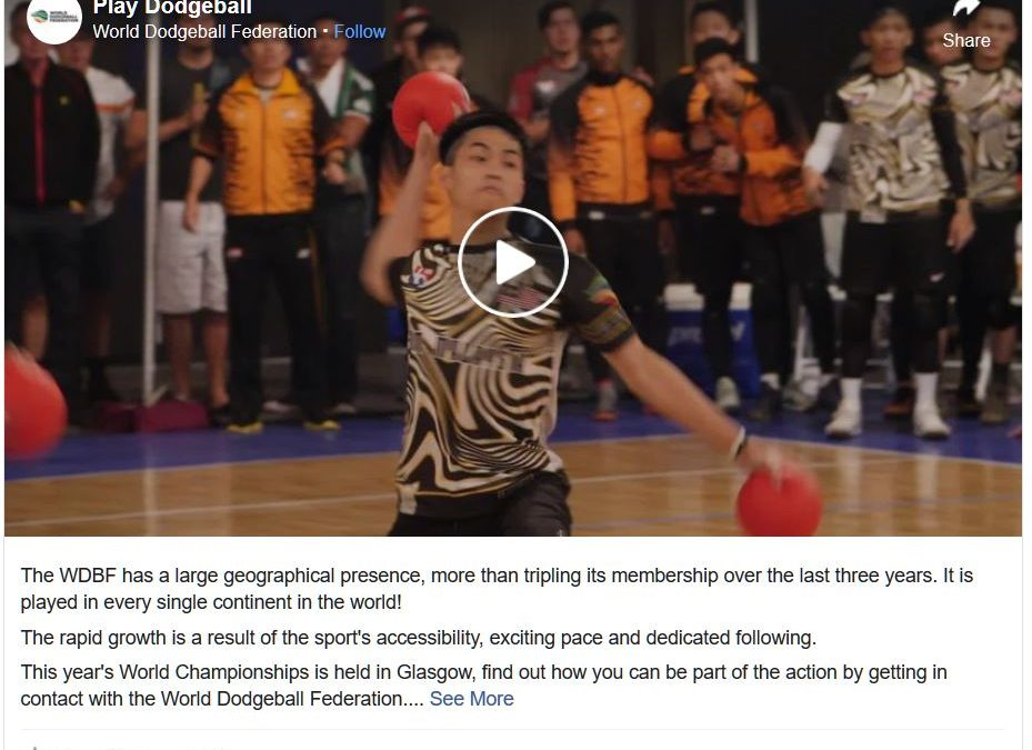 Let's Join World Dodgeball Federation And Be Part Of This Awesome Family Of Dodgeball