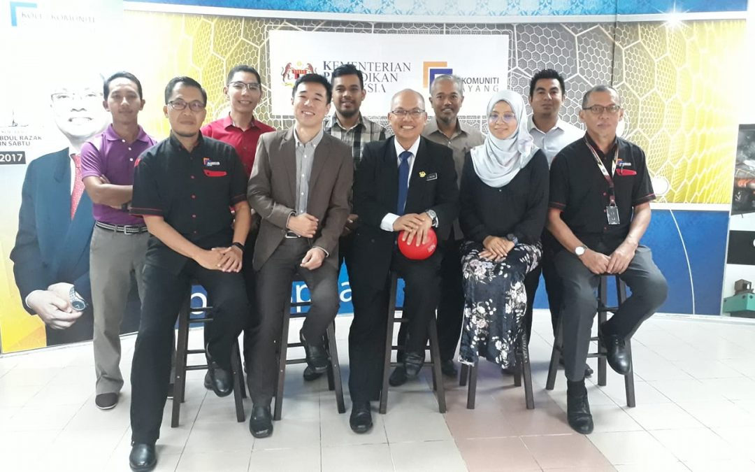 Positive Discussion With The Director And Sports Committee Members Of Malaysia Community College Sports Council