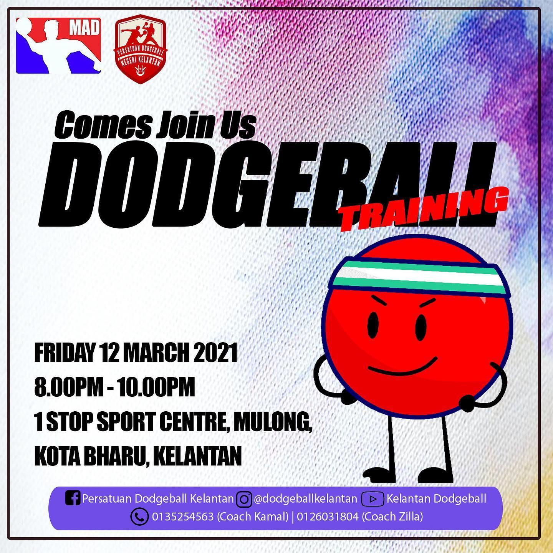 Dodgeball KDA (MAD) Weekly Training