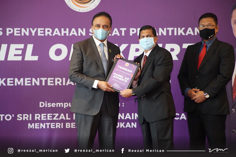 Congratulations To Dato Radhakrishnan, President Malaysia Association Of Dodgeball.